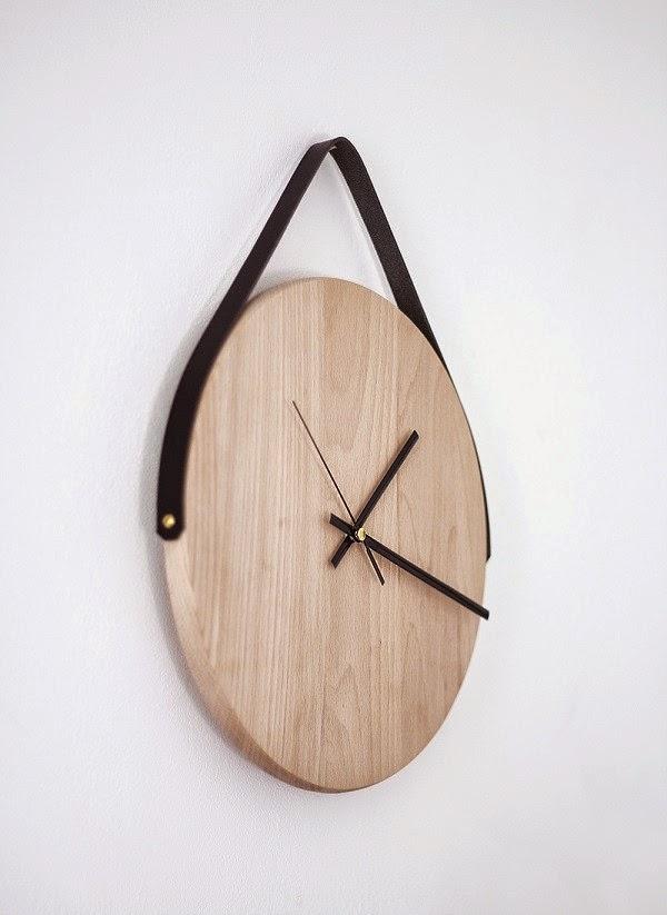 C mo hacer un reloj de pared con madera - Relojes de pared grandes ...