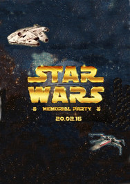 STAR WARS Memorial Party - Bogotá