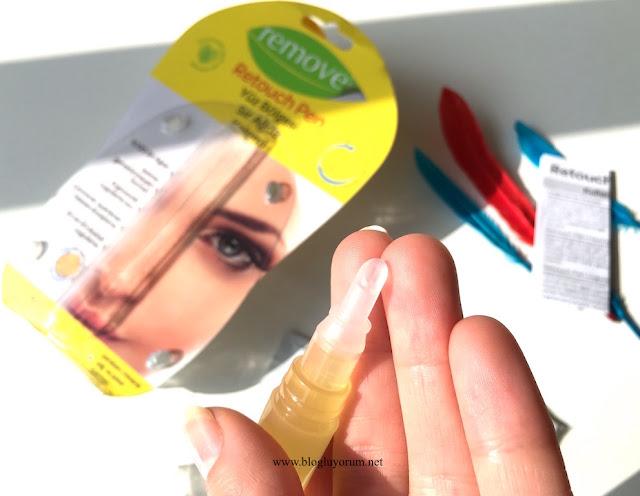 remove retouch pen yüz bölgesi için sir ağda kalemi