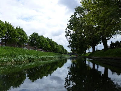 The Grand Canal viewed from water level