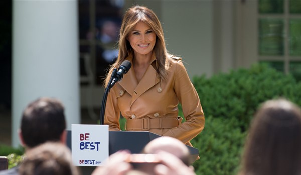 Melania Trump Reappears After A 25-Day Public Absence  (Video)