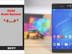 Kode Rahasia Hp Sony Xperia All Type untuk Cek Info Penting