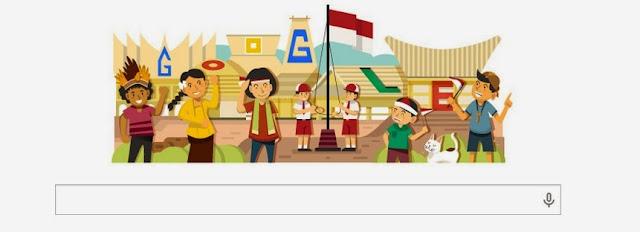 Google Doodles Memperingati Hari Kemerdekaan Indonesia dengan Tagline Merdeka Atau Mati Selamanya!