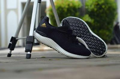 Sepatu Adidas Alphabounce Haptic Men (import) Black