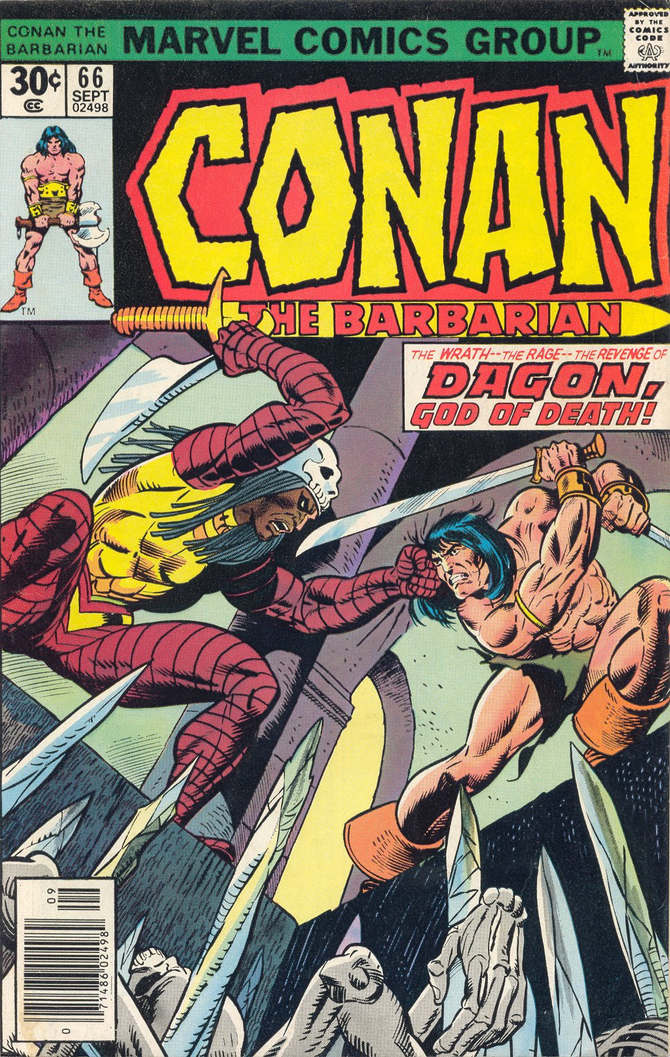Conan the Barbarian (1970) Issue #66 #78 - English 1