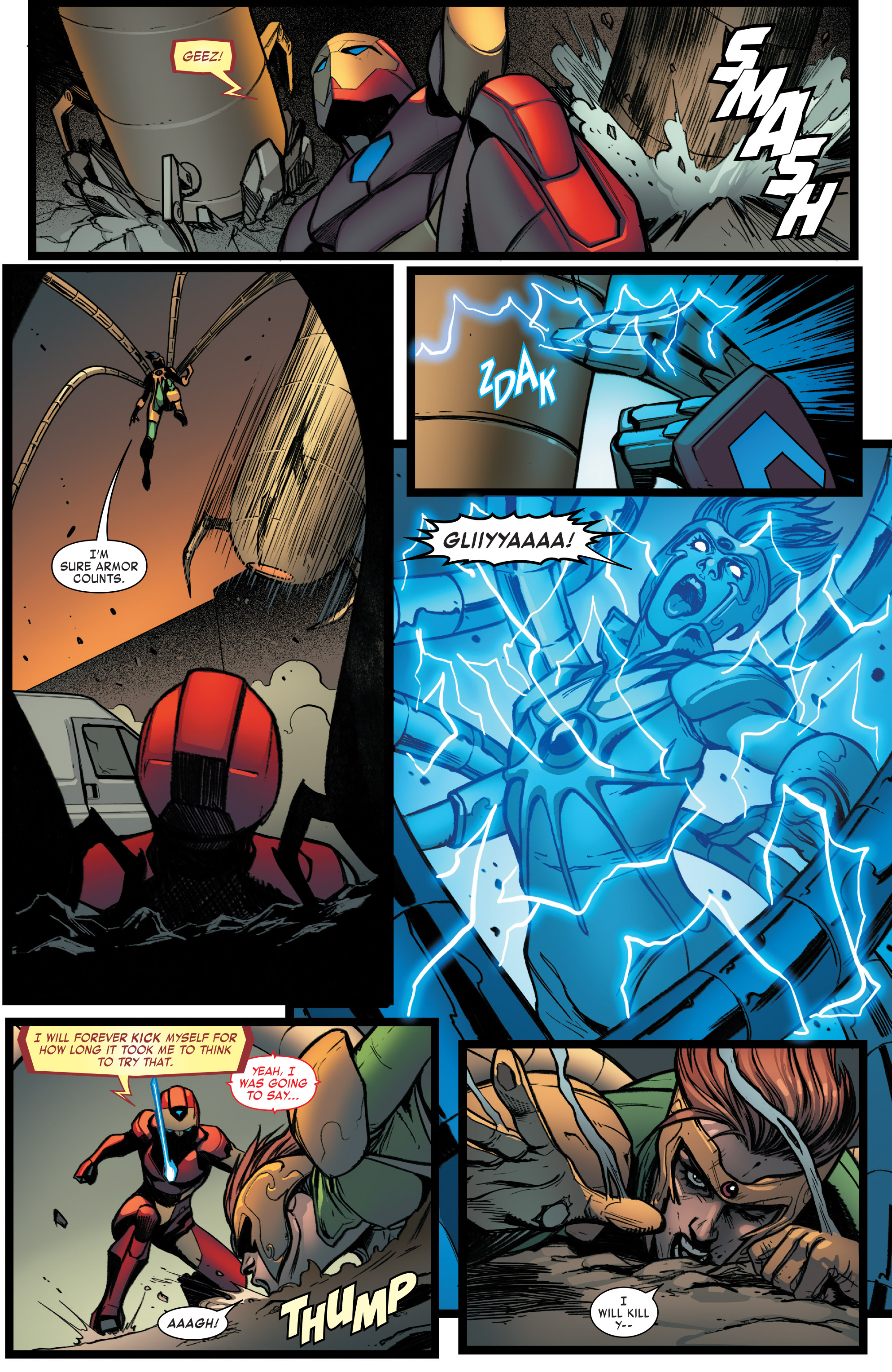 Read online Invincible Iron Man (2016) comic -  Issue #8 - 15
