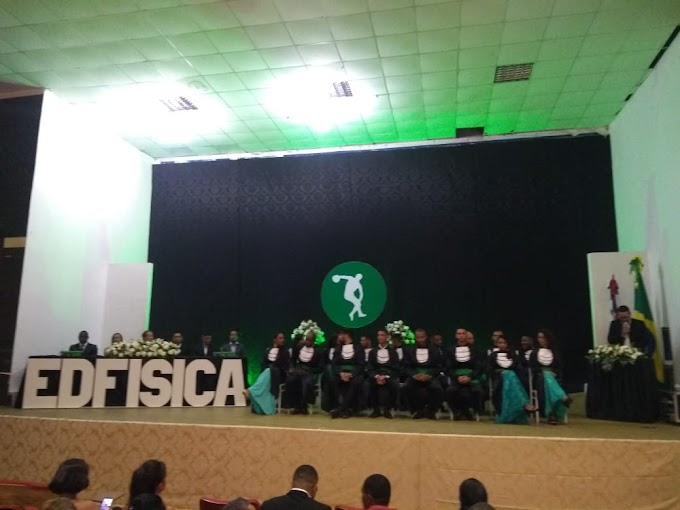 Formatura do Curso de Licenciatura em Educação Física da FAMAM