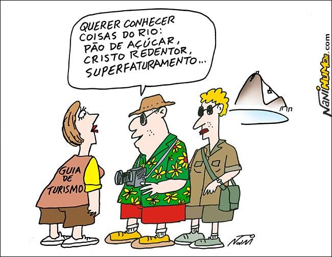 Nani Humor: Turismo no Rio