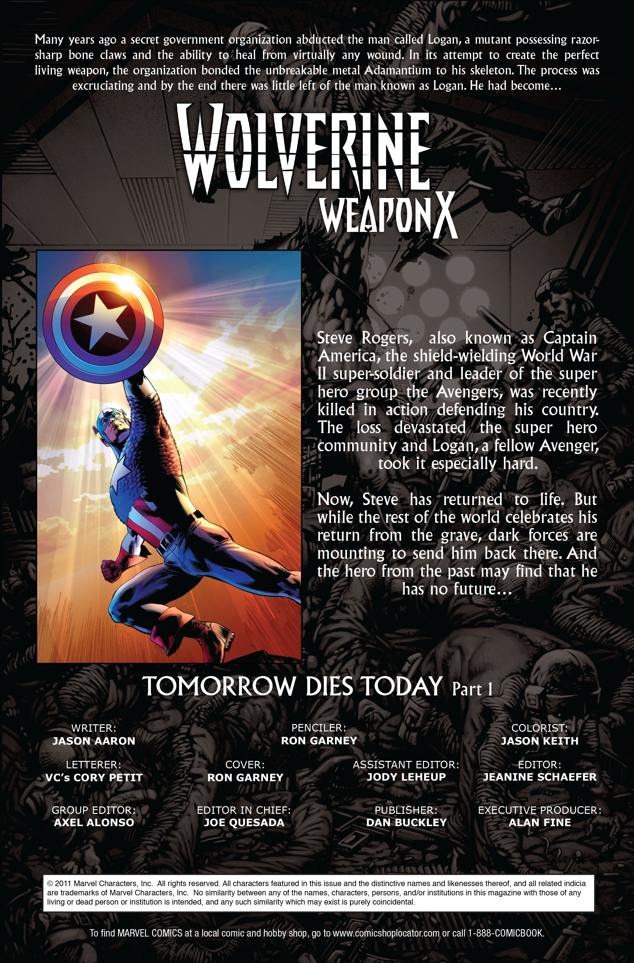 Read online Wolverine: Weapon X comic -  Issue #11 - 2