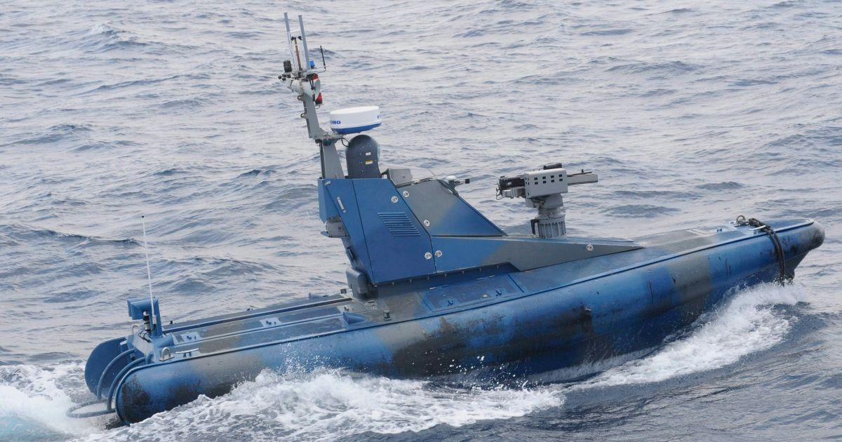 The Protector Unmanned Naval Patrol Vehicle