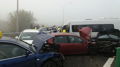 tömegbaleset, tömegbaleset A2, Románia, autostrada soarelui,