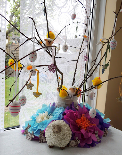 Easter Tree Decoration Idea