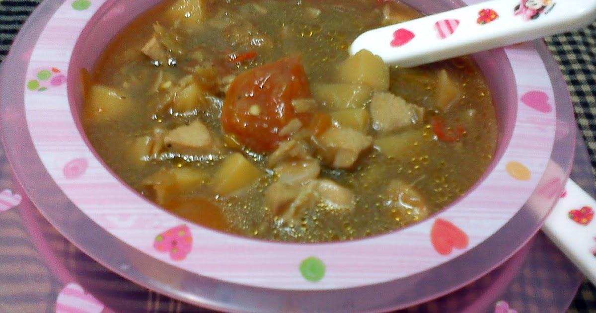 resepi  ayam  anak hirup Resepi Sup Cendawan Daging Enak dan Mudah
