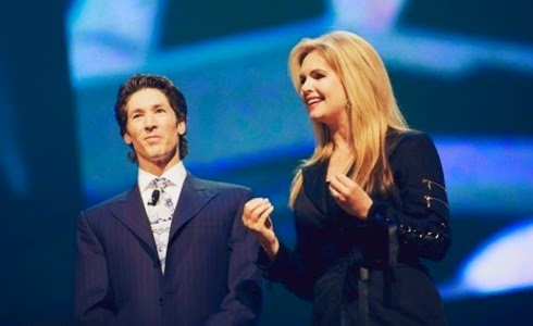 Joel Osteen y su esposa