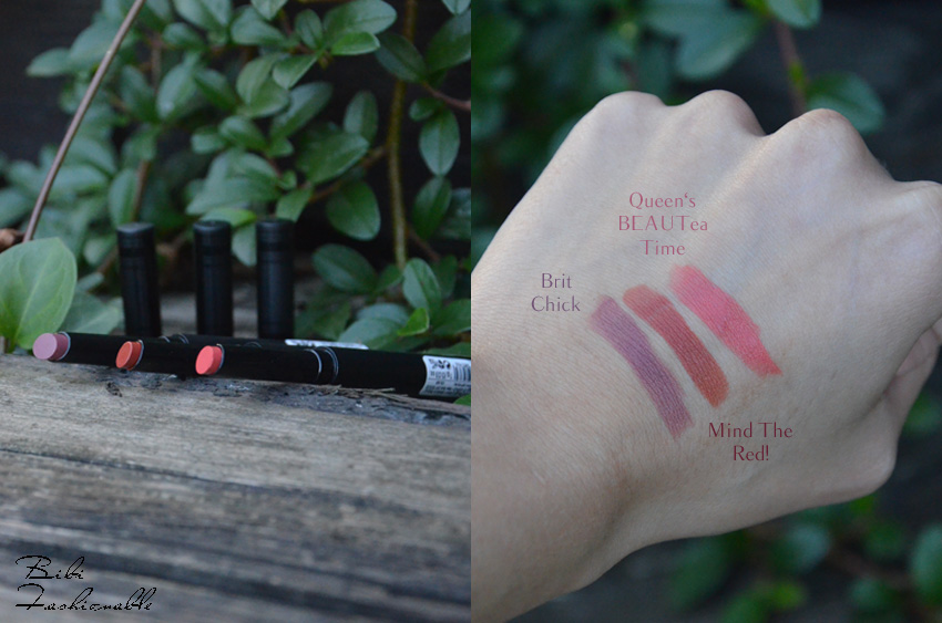Catrice Check and Tweed Velvet Lip Colour offen und Swatches