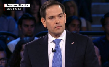 Senator Marco Rubio is called 'pathetically weak' as he refuses to support an assault weapon ban during Town Hall meeting with Florida massacre victims and families