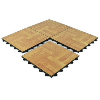 Greatmats event portable dance floor tile wood look floor