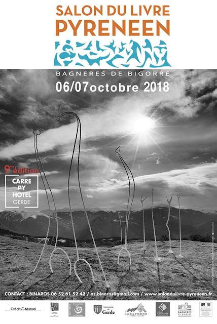 Salon du Livre Pyrénéen Bagnères-de-Bigorre 2018