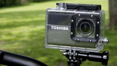 Gambar Kamera Aksi TOSHIBA CAMILEO X-SPORTS