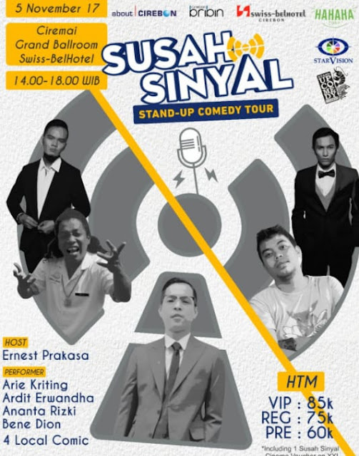 Back again with mimin who on this occasion will deliver a new movie called Download Susah Sinyal - Stand Up Comedy Tour 2017 Full Movie