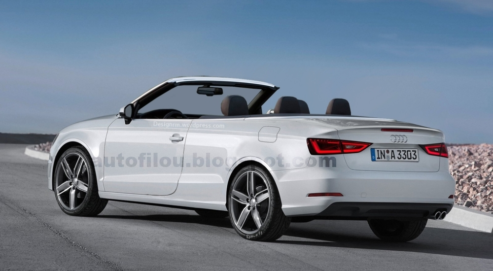 audi a3 cabrio rendering so nicht anders. Black Bedroom Furniture Sets. Home Design Ideas