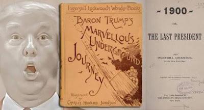 Livro de 1800 diz que Donald Trump viaja no tempo e que ele será o último presidente