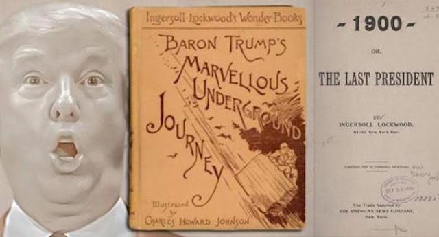 Livro de 1800 diz que Donald Trump