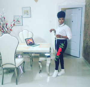 Former Bread seller model, Olajumoke look stunning in new photos
