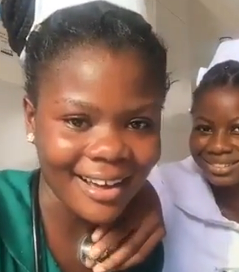 ghanaian nurses facebook live duty