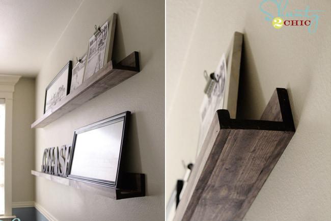 Marzua fabrique sus propios estantes para cuadros - Madera para estantes ...