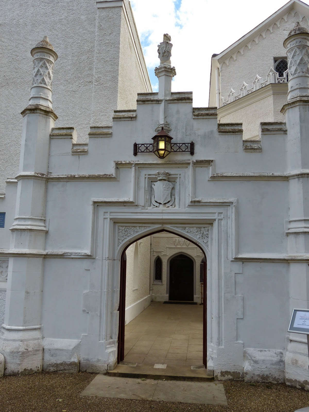 Entrance gate, Strawberry Hill