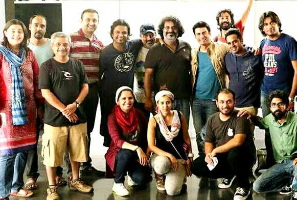Oochi & Fawad Khan for Oye Hoye Styled by Mariam Azmi