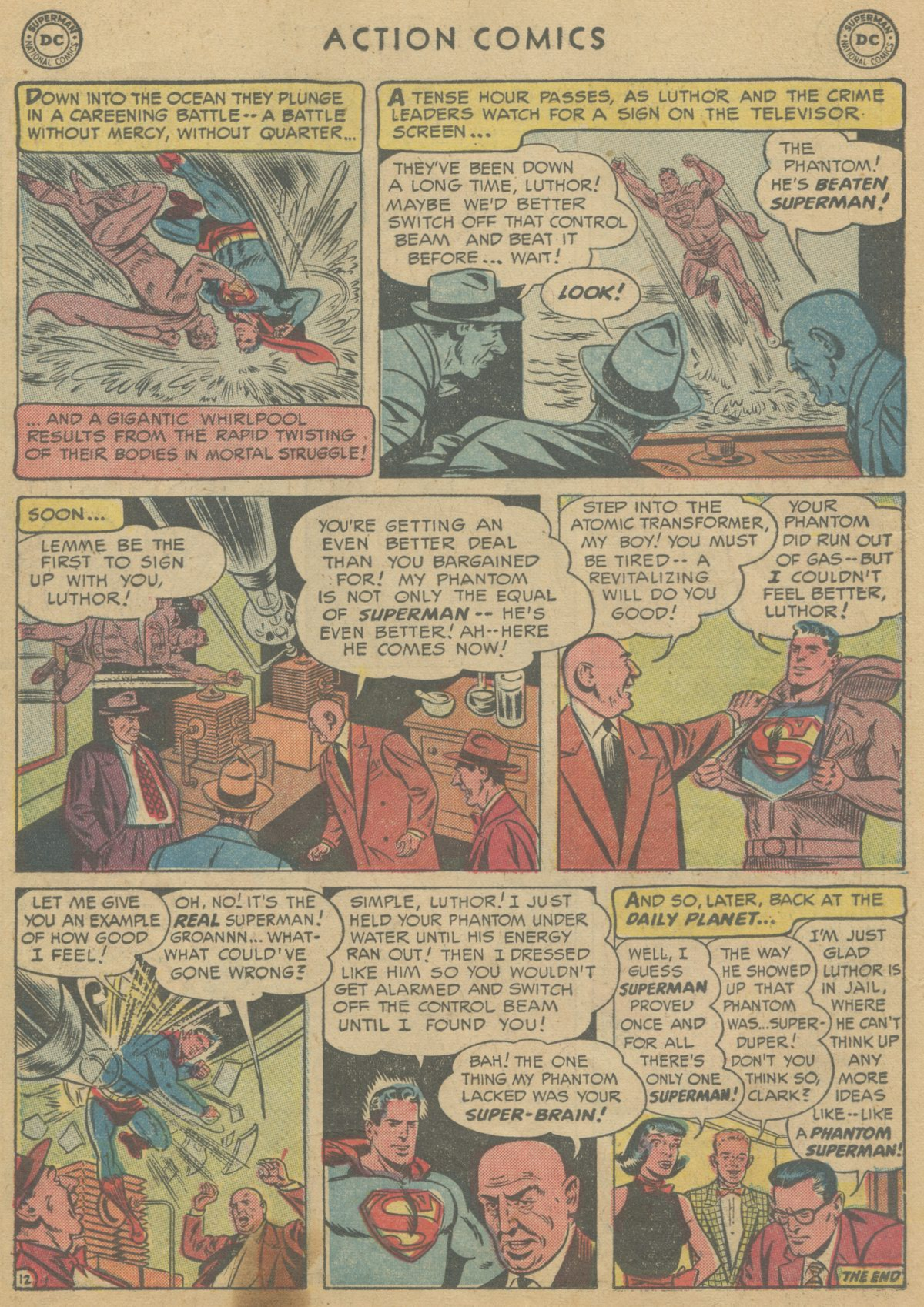 Read online Action Comics (1938) comic -  Issue #199 - 15