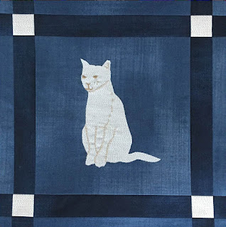 photo relating to Free Printable Cat Quilt Patterns referred to as Quilt Enthusiasm: Free of charge routine working day: Cat and Doggy quilts!
