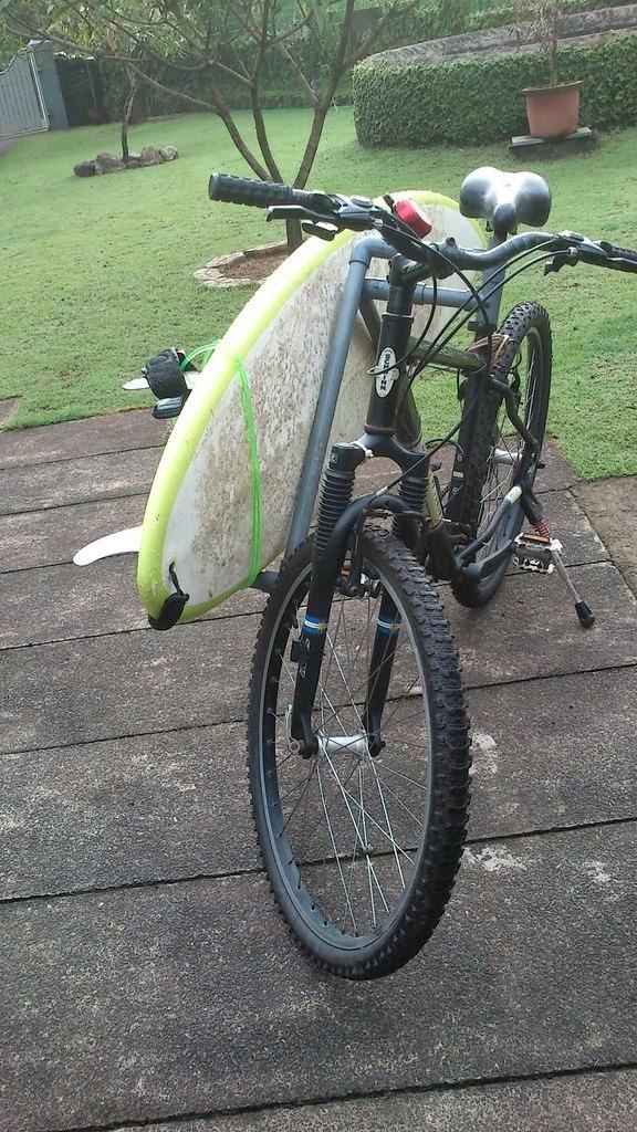 1db6da8e1 Como Fazer  Suporte Para Carregar Prancha de Surf Na Bike