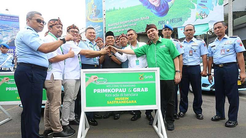 Pemkot Bandung Dukung Kerjasama Transportasi Online dengan PRIMKOPAU di Bandara Husein