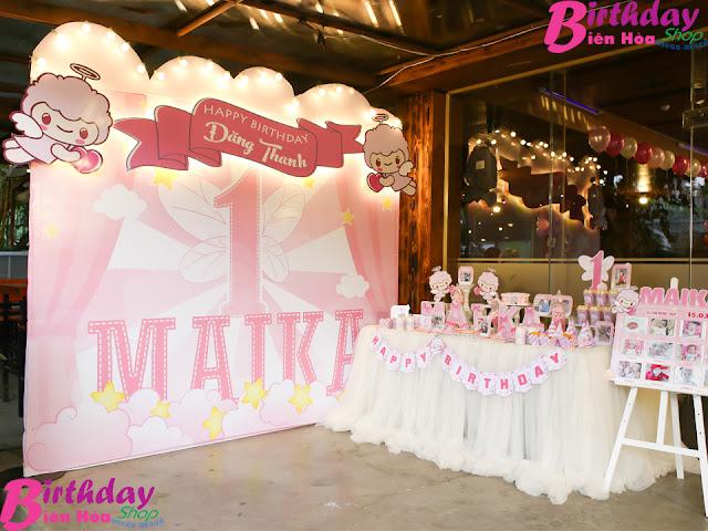 Dịch vụ tổ chức sinh nhật ở Biên Hòa