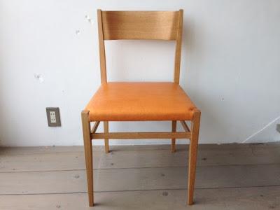 宮崎椅子製作所 menuサイドチェア ナラ オイルレザー