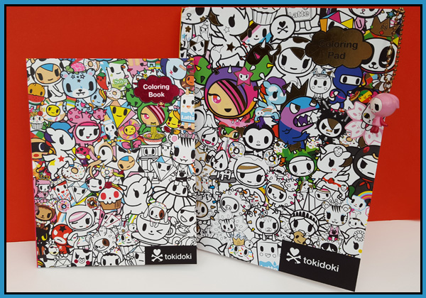 TokiDoki Stationery available at GMC Distribution