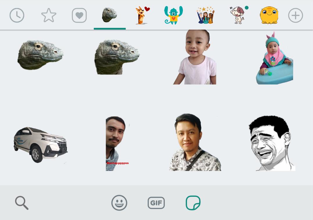 Catatan Kita Cara Mudah Membuat Stiker Lucu Whatsapp
