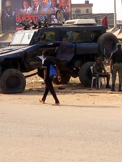 Accident: Trailer collide with police armored car in Aba