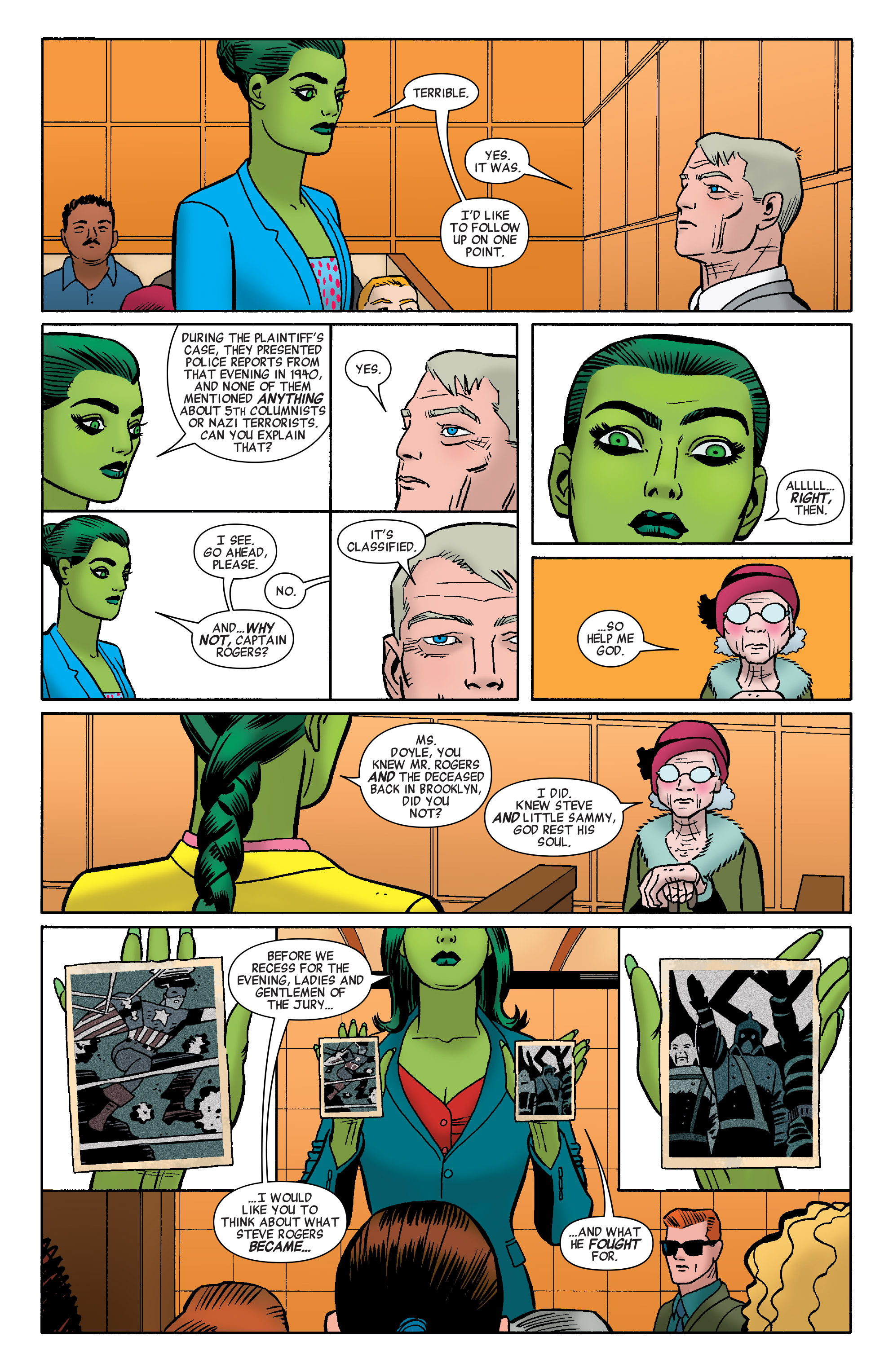 Read online She-Hulk (2014) comic -  Issue #10 - 9