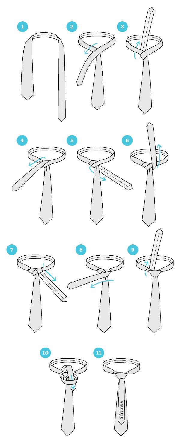 cara memakai dasi unik dan keren murrell