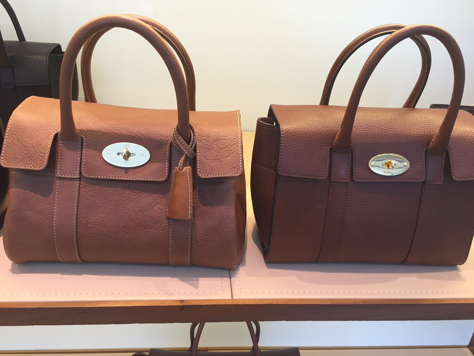2c60bd0d16 Mulberry Small Bayswater Satchel and New Small Bayswater
