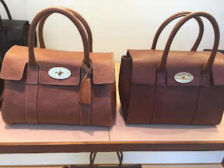 Mulberry Small Bayswater Satchel and New Small Bayswater
