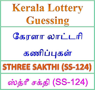 Kerala lottery guessing of STHREE SAKTHI SS-124, STHREE SAKTHI SS-124 lottery prediction, top winning numbers of STHREE SAKTHI SS-124, ABC winning numbers, ABC STHREE SAKTHI SS-124 18-09-2018 ABC winning numbers, Best four winning numbers, STHREE SAKTHI SS-124 six digit winning numbers, kerala lottery result STHREE SAKTHI SS-124,