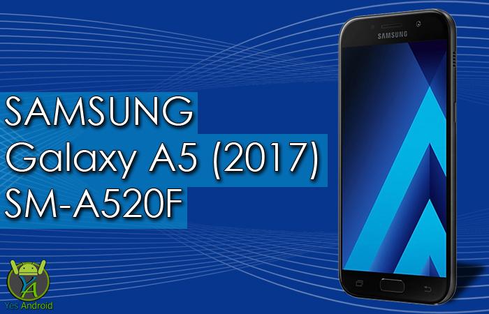 Download A520FXXU1APLO   Galaxy A5 (2017) SM-A520F