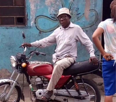Photo Fun: Obasanjo Caught Riding Okada In Asaba