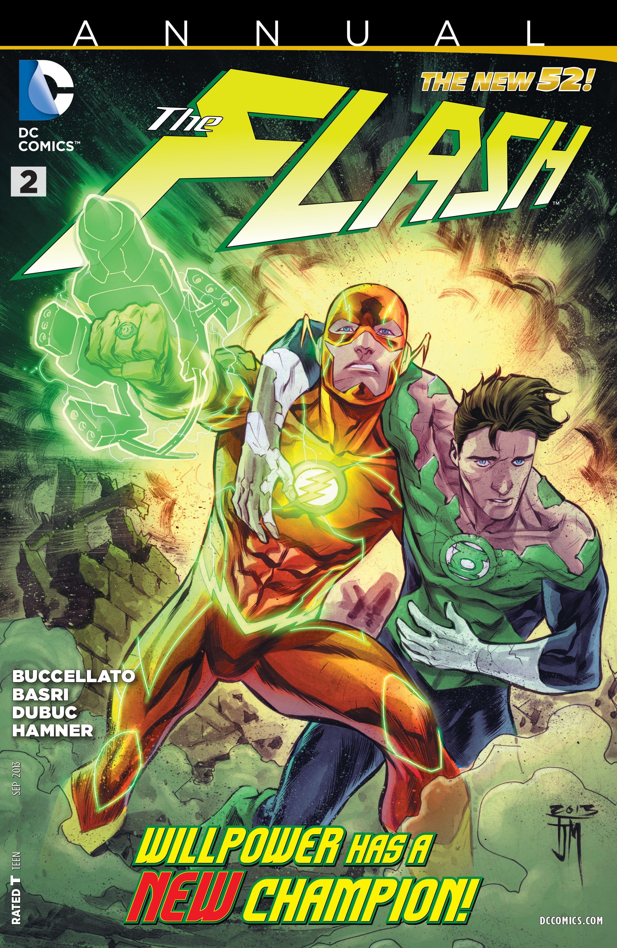 Read online The Flash (2011) comic -  Issue # Annual 2 - 1