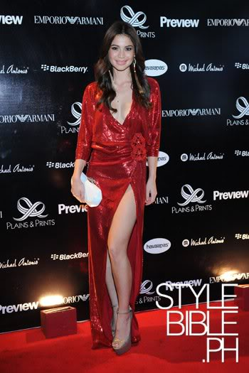 Anne Curtis Sexy Dress